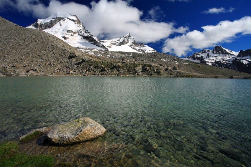 Gran Paradiso. National Park, Italy stock photography