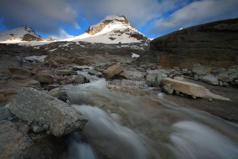 Gran Paradiso. National Park, Italy royalty free stock photos