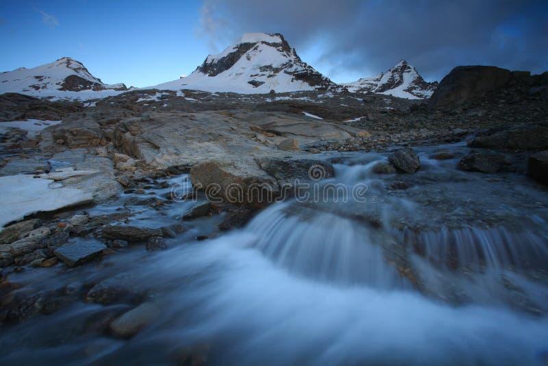 Gran Paradiso. National Park, Italy royalty free stock photography