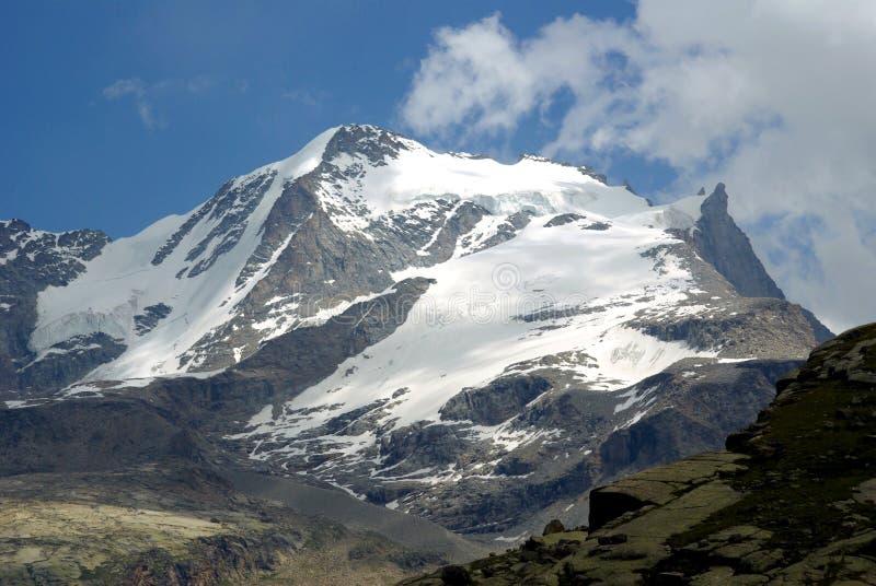 Gran Paradiso (4061m), Italy. Gran Paradiso (4061m), Italian Alps, Italy stock images