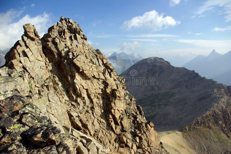 Gran Paradiso, Italy. Gran Paradiso National Park, Italian Alps, Italy stock photos