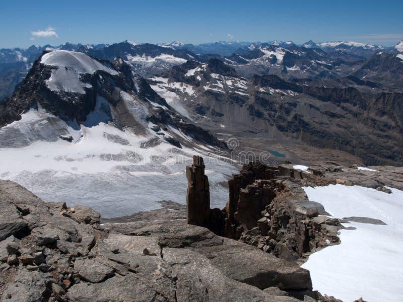 Gran Paradiso National Park. In Italian alps stock photos