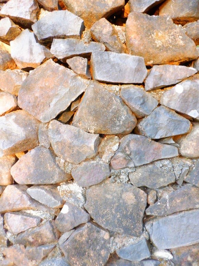 Gran pared de piedras fotos de archivo libres de regalías