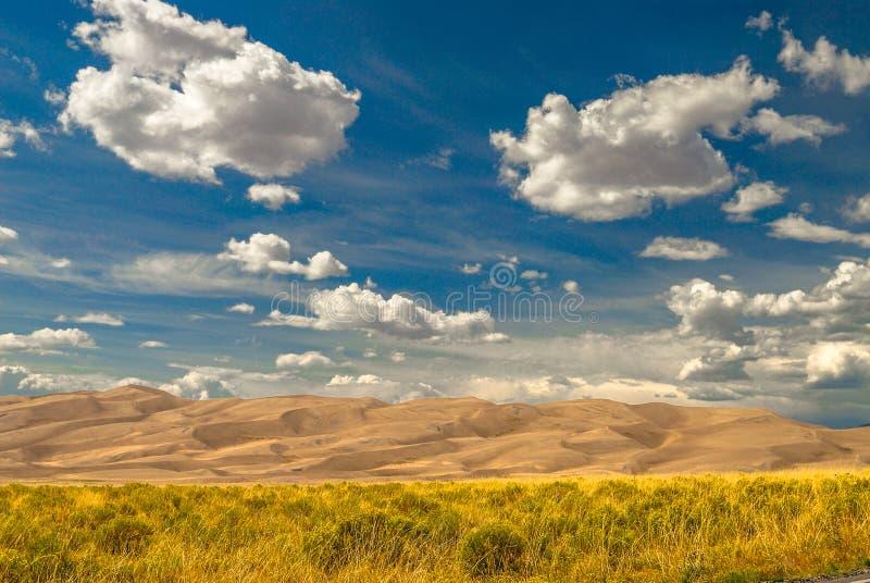 Gran parque nacional de las dunas de arena imágenes de archivo libres de regalías