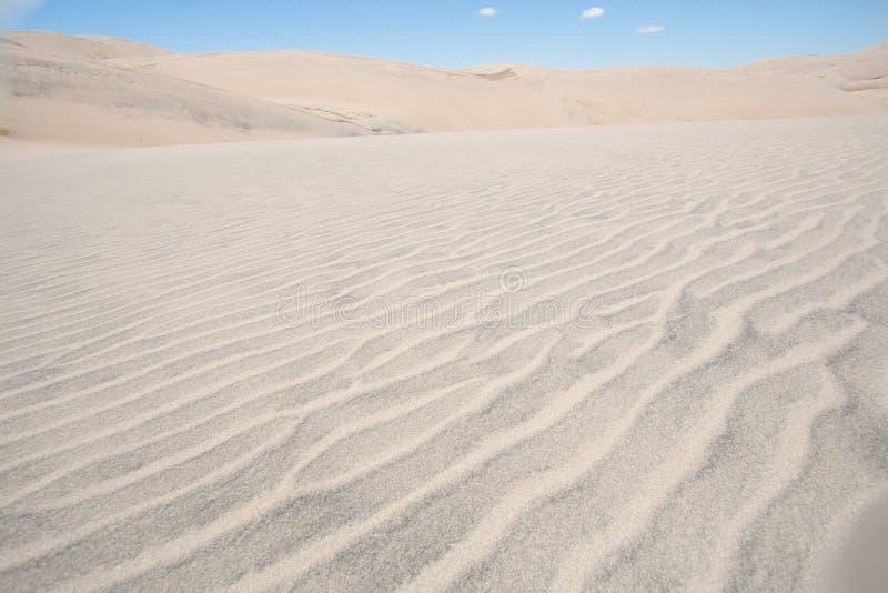 Gran parque nacional de las dunas de arena en Colorado fotos de archivo libres de regalías