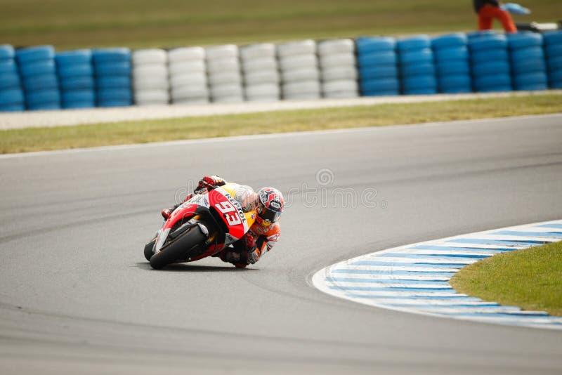 Gran Premio australiano 2014 del motociclo di Tissot fotografia stock libera da diritti