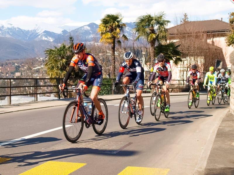 Gran Premio della corsa di riciclaggio di Lugano nel 2015 immagini stock
