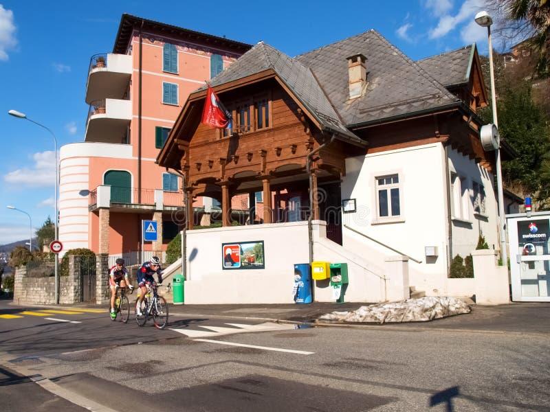 Gran Premio della corsa di riciclaggio di Lugano nel 2015 fotografia stock libera da diritti
