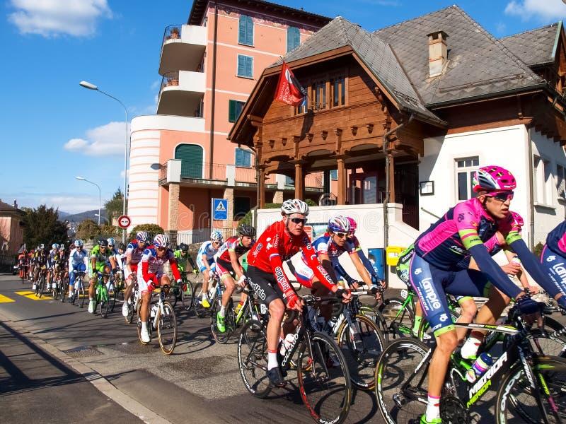 Gran Premio della corsa di riciclaggio di Lugano nel 2015 immagini stock libere da diritti