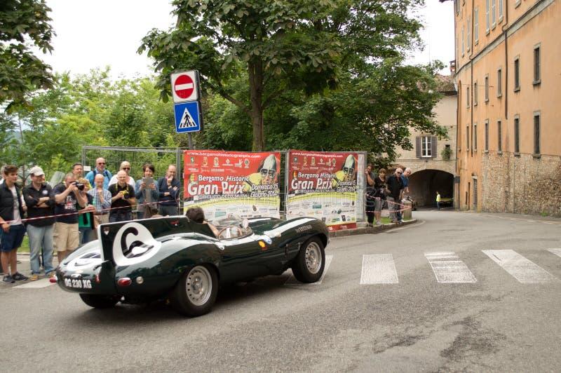 Gran Premio storico 2014 di Bergamo fotografia stock libera da diritti