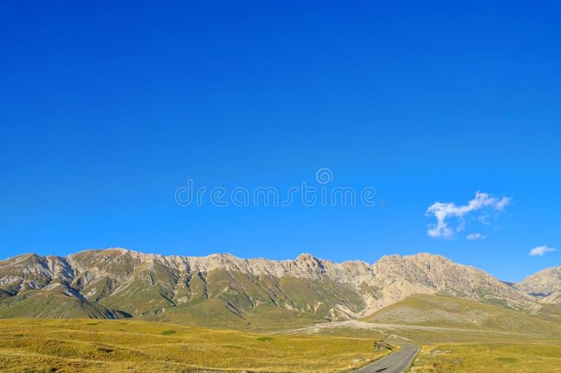 Download Gran Sasso stock photo. Image of panorama, sasso, plain - 23943904