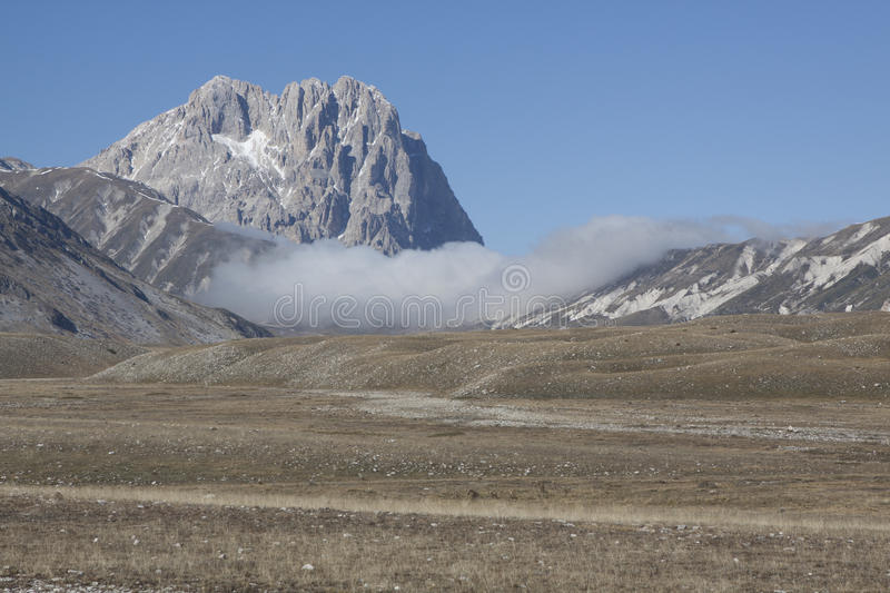 Gran sasso royalty free stock images