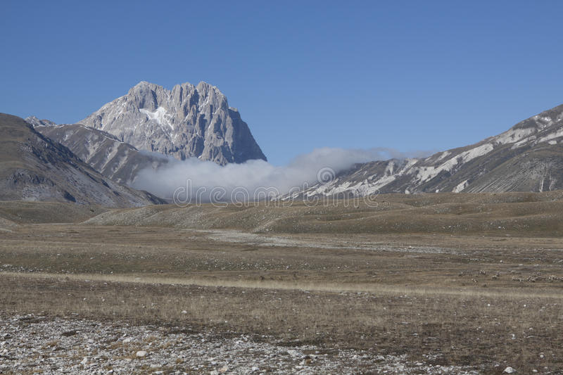 Gran sasso stock images