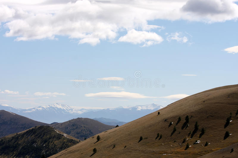Gran Sasso National Park in Italy royalty free stock images