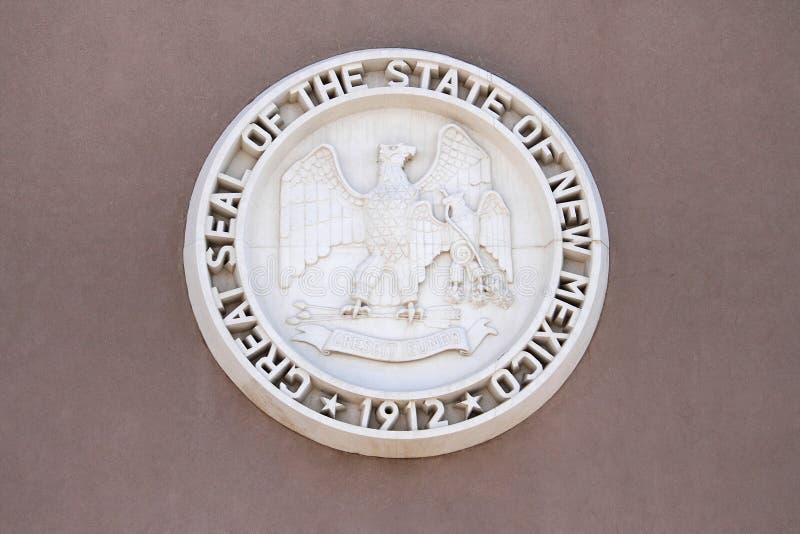 Gran sello del estado de New México foto de archivo libre de regalías