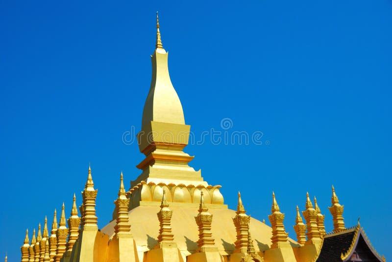 Gran stupa, vientiane imagenes de archivo
