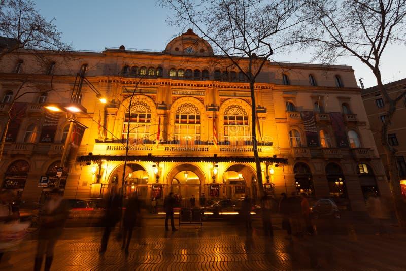Download Gran Teatre Del Liceu In Barcelona Redactionele Stock Afbeelding - Afbeelding bestaande uit facade, nacht: 39118524