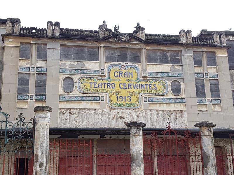 gran teatro Cervantes stock afbeeldingen