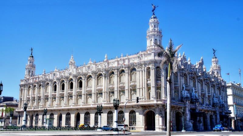 Gran Teatro De La Habana, Havana, Kuba lizenzfreie stockbilder