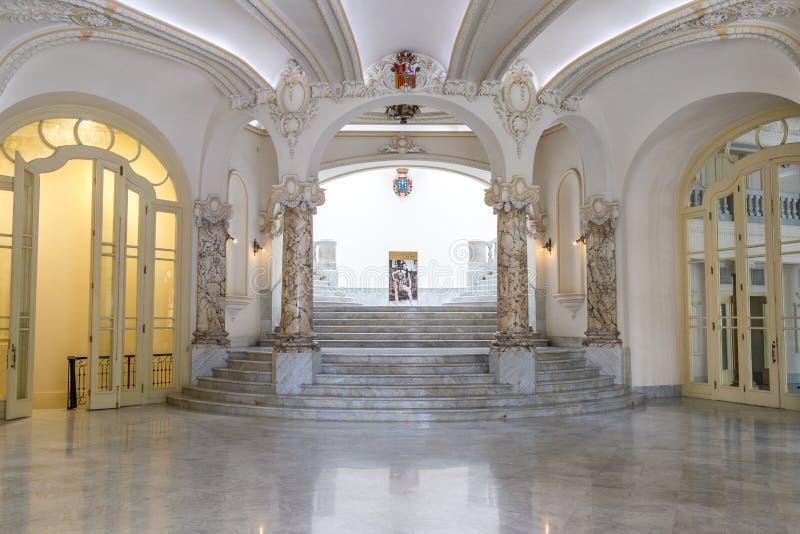 Gran Teatro de le Habana, Cuba imagen de archivo
