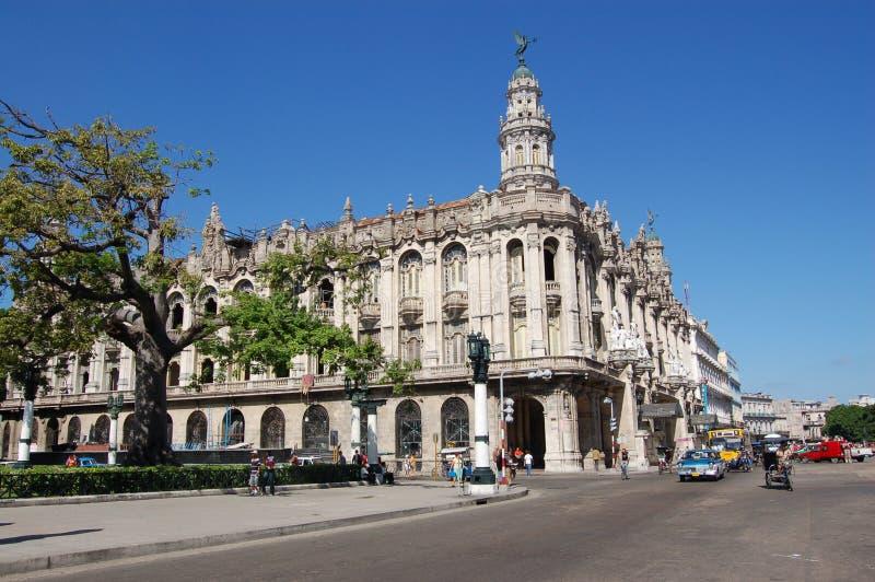 Gran Teatro, La Havane photo libre de droits