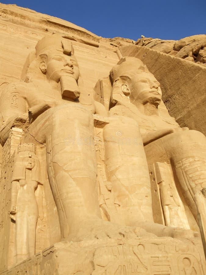 Gran templo de Ramesses II imágenes de archivo libres de regalías