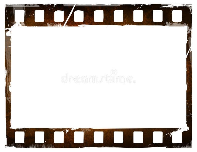 Gran tira de la película stock de ilustración