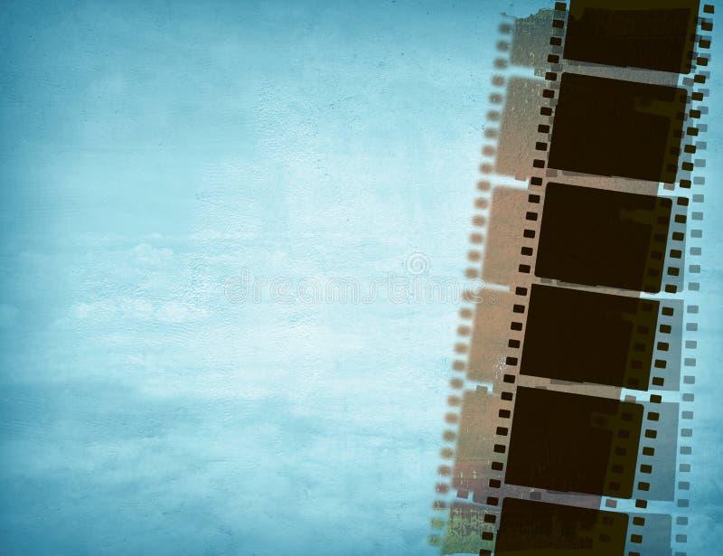 Gran tira de la película ilustración del vector