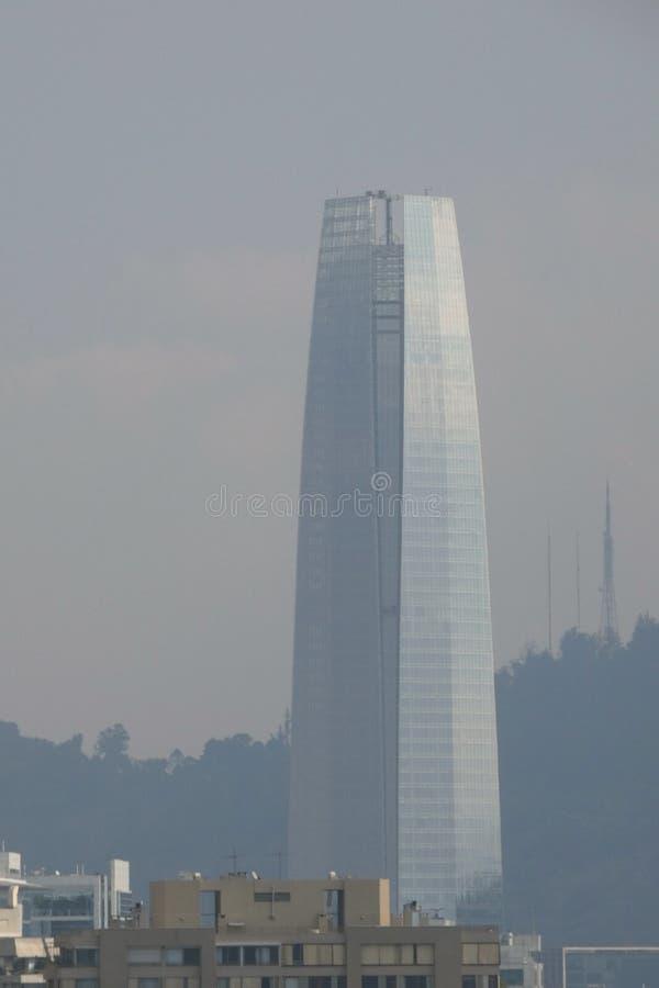 Gran Torre Santiago royalty-vrije stock afbeelding