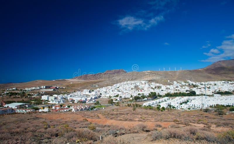 Gran villaggio di Canaria, Agaete fotografia stock