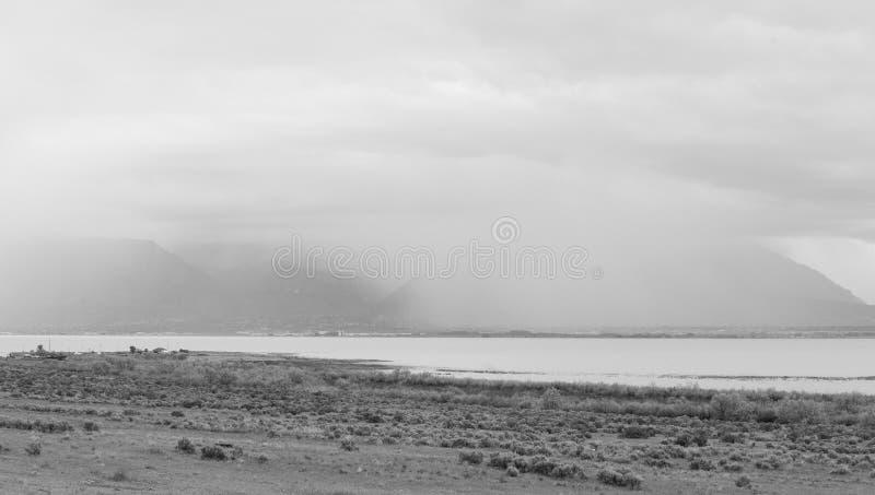 Gran visión en el lago utah imagen de archivo libre de regalías