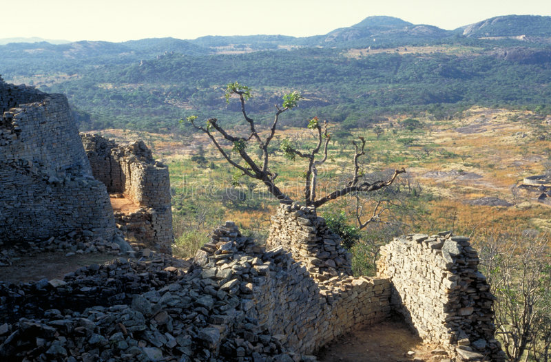 Gran Zimbabwe imagen de archivo libre de regalías