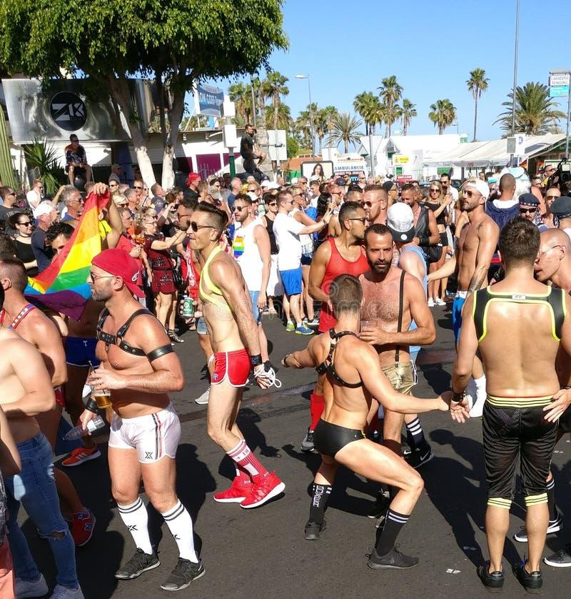 Gran zitronengelbes homosexuelles Pride May 2017 - 9 stockfoto