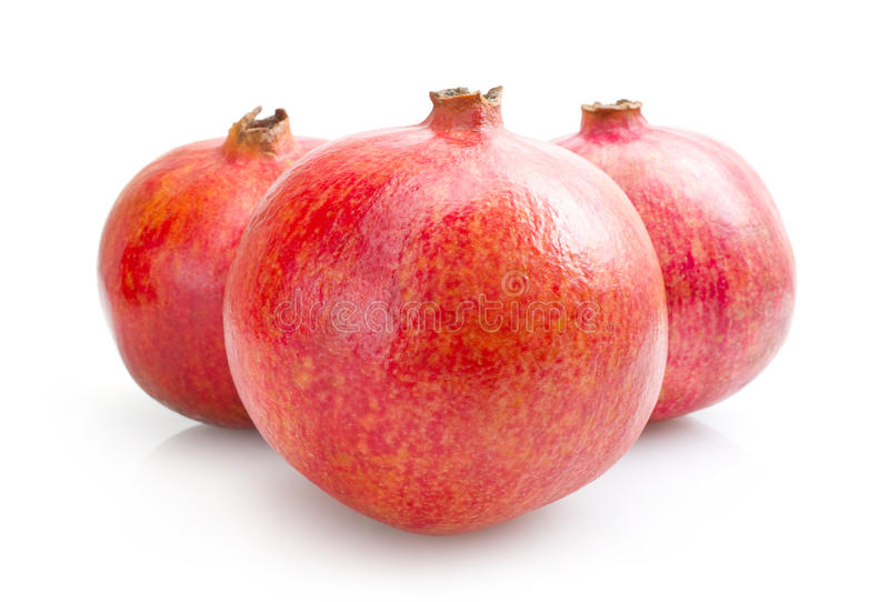 granaatappels royalty-vrije stock afbeelding