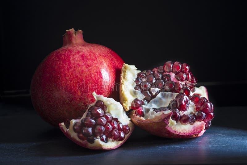 granaatappels stock afbeelding