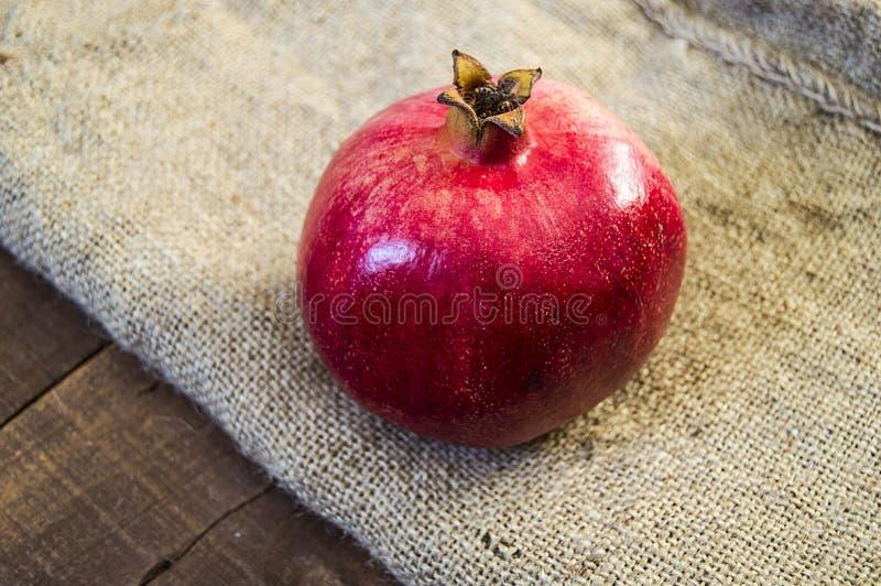 Granaatappelschilderijen, beelden van natuurlijk organisch granaatappelfruit, stock fotografie