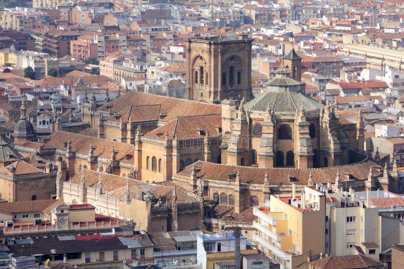 Granada stockfotografie