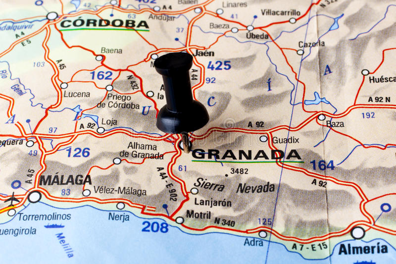 Granada obraz royalty free