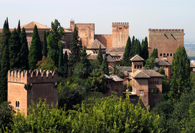 Granada 4 royalty free stock images