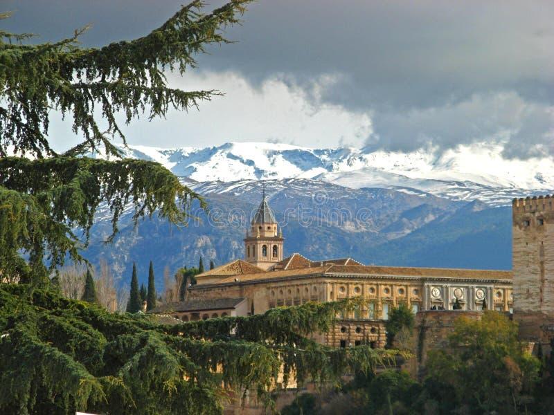 Granada, Alhambra 14 royalty-vrije stock afbeelding