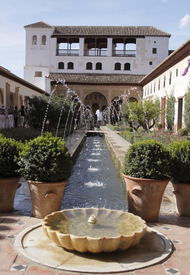Granada - Alhambra royalty-vrije stock foto