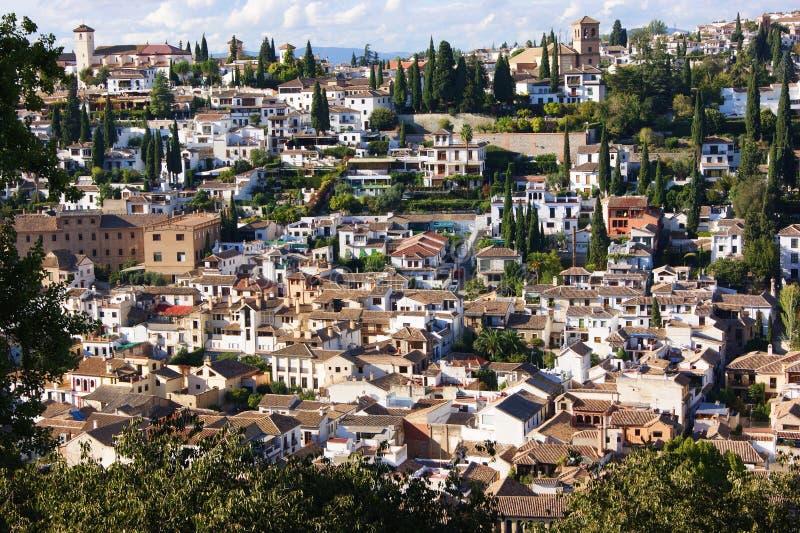 Granada allegro, Spagna immagine stock