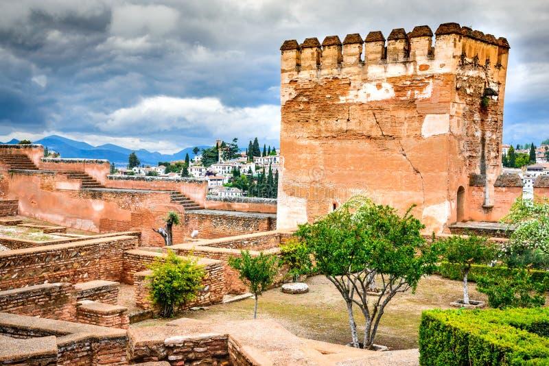 Granada, Andalusia, Spanje stock afbeelding