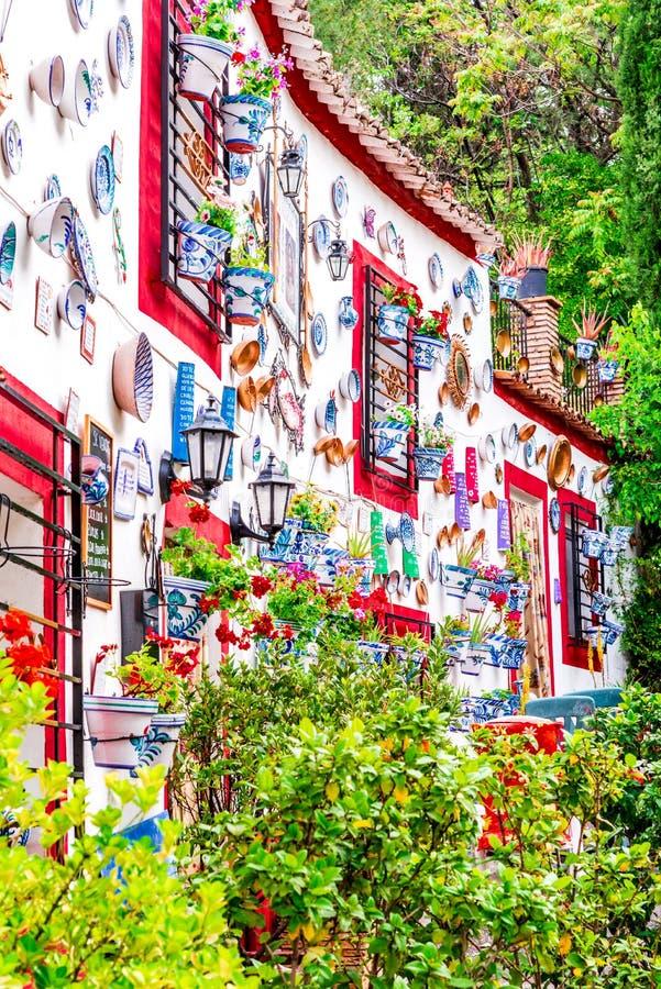 Granada, Andalusia, Spanje - Sacromonte royalty-vrije stock afbeelding