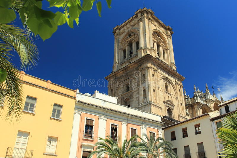 Download Granada cathedral stock image. Image of andalusia, spain - 24872619