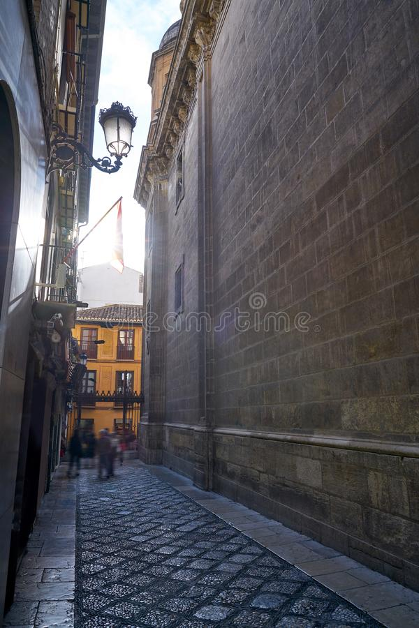 Granada Cathedral Royal Capilla in Spain. Granada Cathedral Royal Capilla area in Spain at Andalusia stock photos