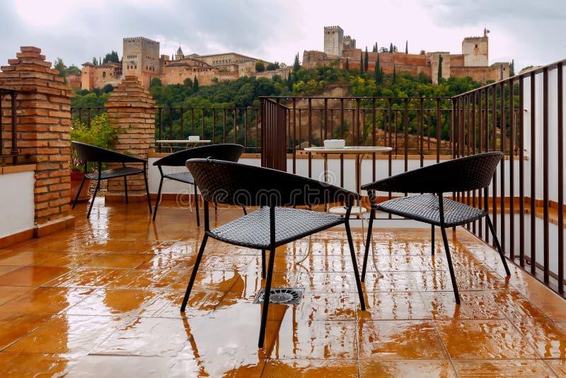 granada Der Festungs- und Palastkomplex Alhambra lizenzfreie stockfotografie
