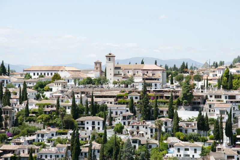 Granada - Espanha fotos de stock royalty free
