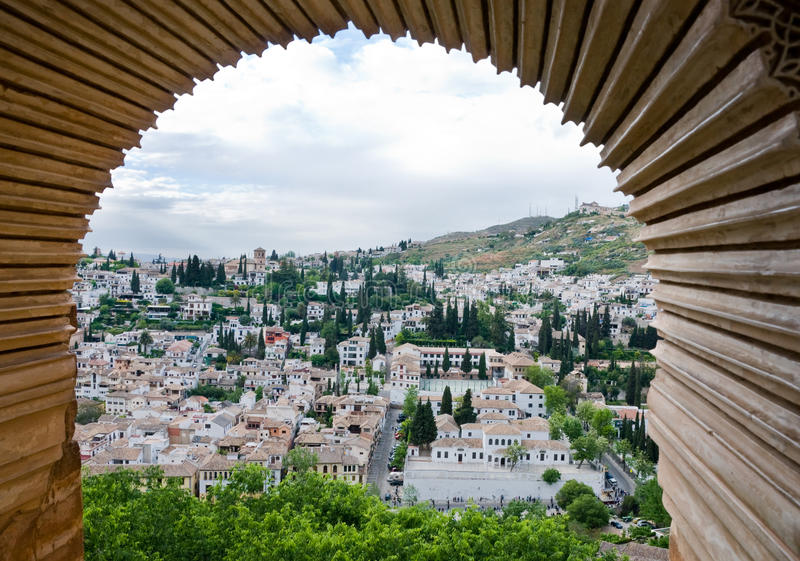 Download Granada framed stock photo. Image of looking, travel - 25648526