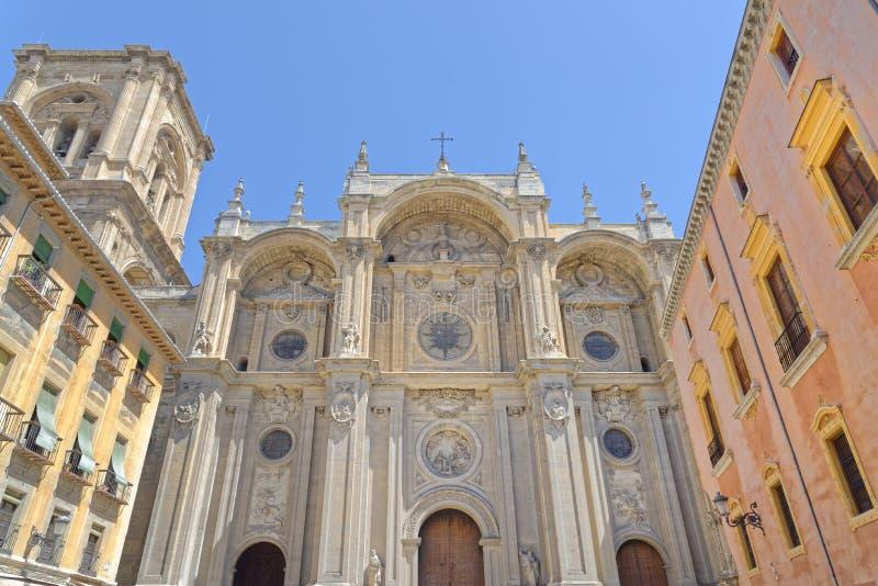 45 - Granada kathedraal stock fotografie